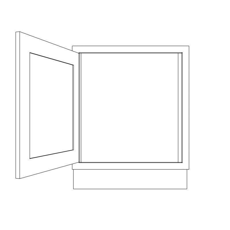 KR1 Base Freestanding Appliance Housing Open 1