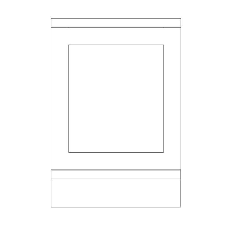 KR1 Base Integrated Dishwasher Panel 1