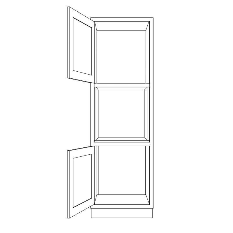 KR1 Tall Appliance Housing 680 Open