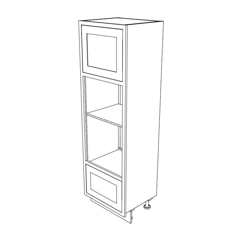 KR1 Tall Double appliance Housing 680 3D