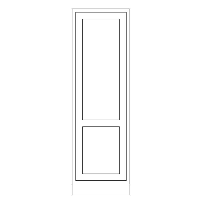 KR1 Tall Fridge or Freezer Housing 680