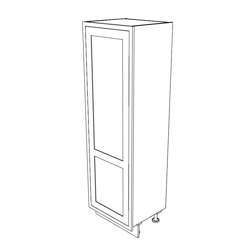 KR1 Tall Single Larder with Drawers 680 3D