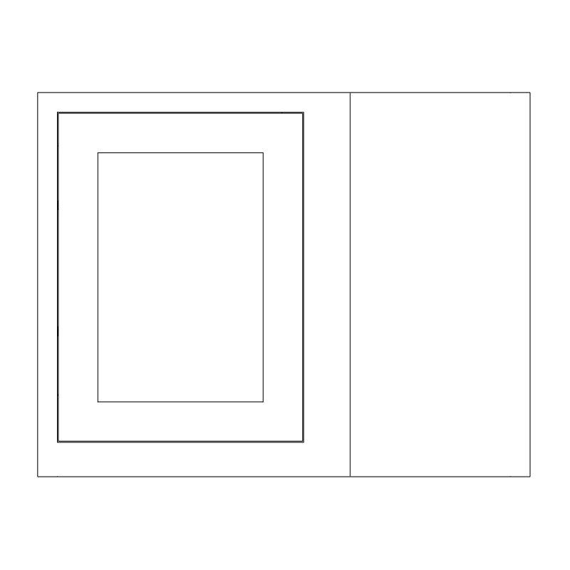 KR1 Wall units Corner Left Hand 1000