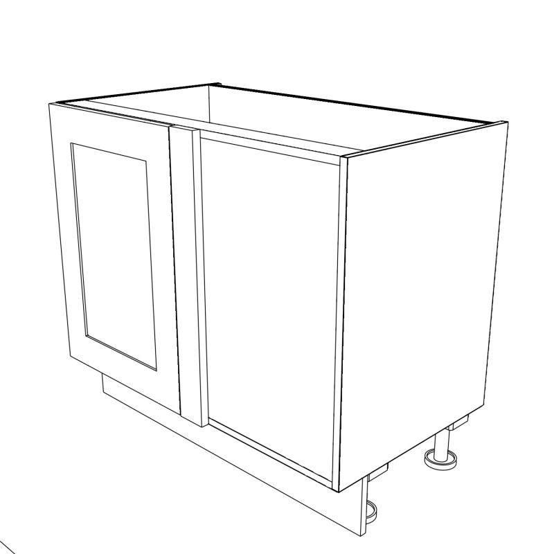KR2 Base Corner Left Hand 3D