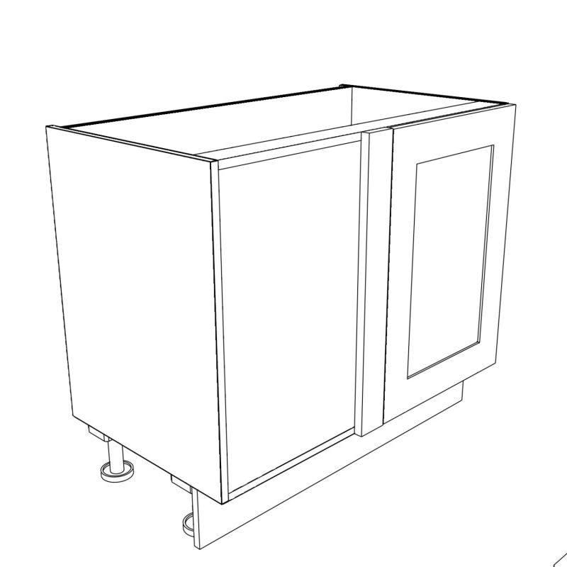 KR2 Base Corner Right Hand 3D