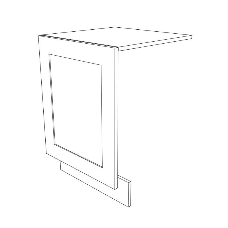 KR2 Base Integrated Dishwasher Panel 3D
