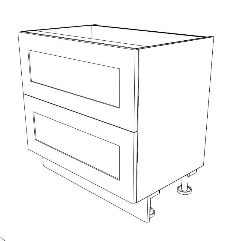 KR2 Base Pan Drawers 900 3D