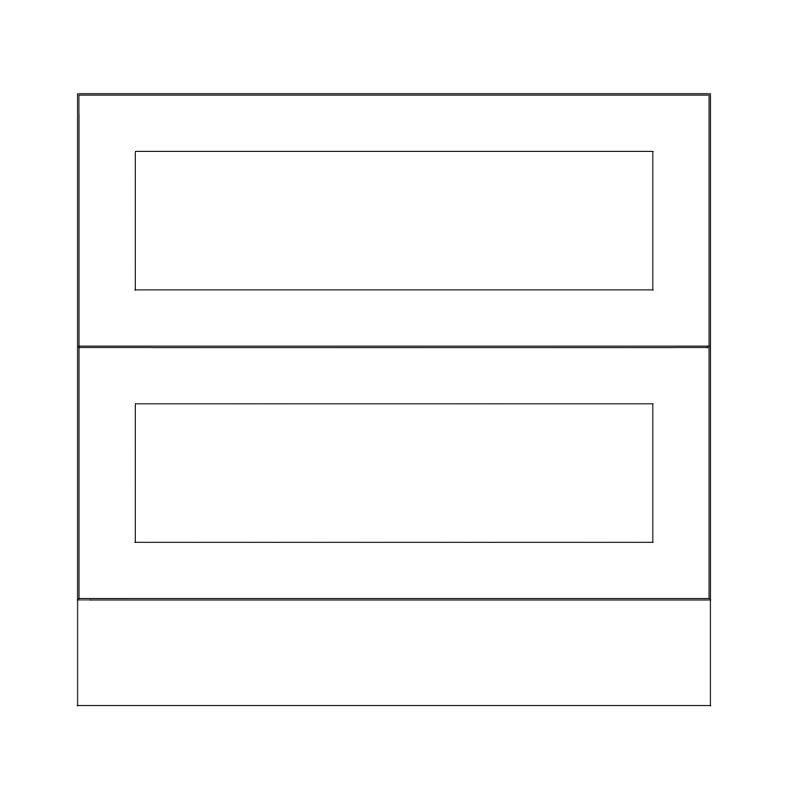 KR2 Base Pan Drawers 900