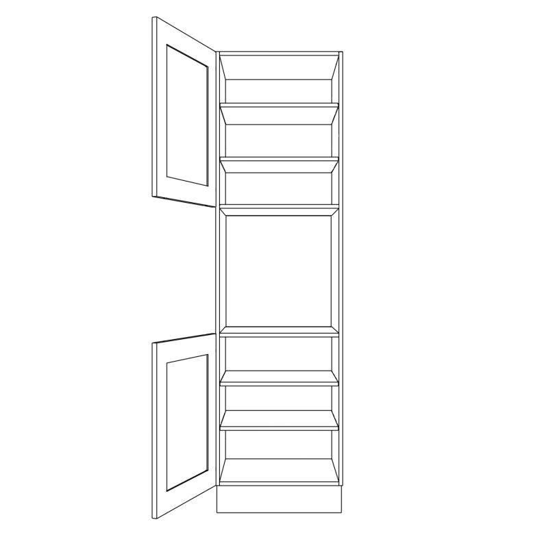 KR2 Tall Appliance Housing Open
