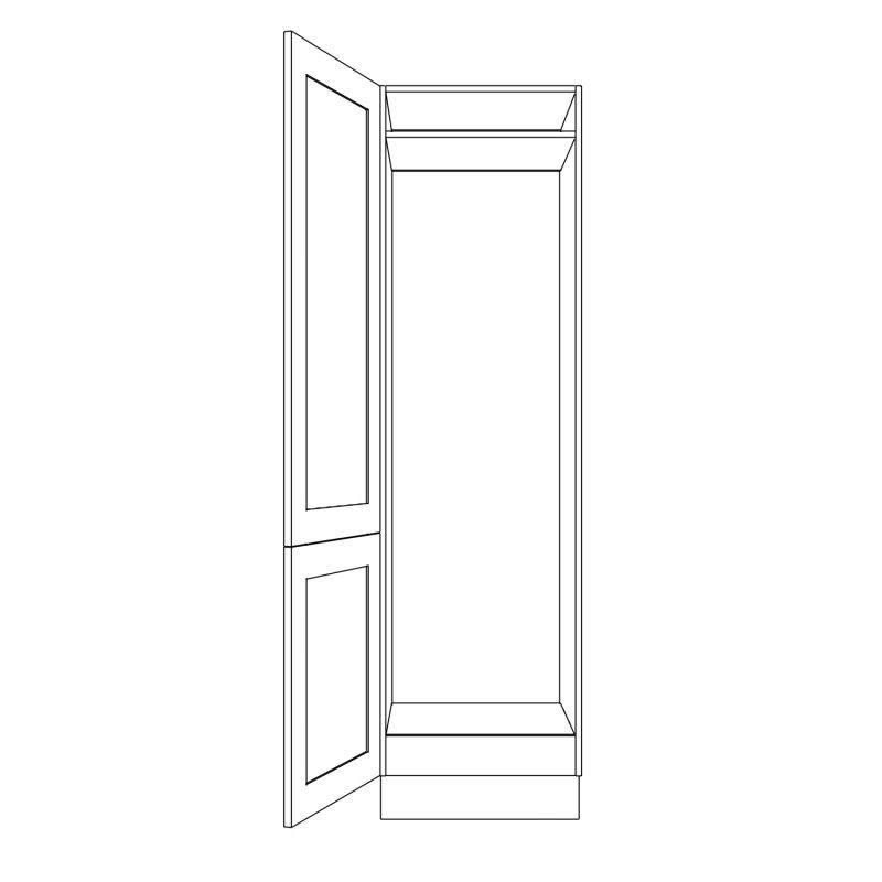 KR2 Tall Fridge Freezer Combi Housing Open 1