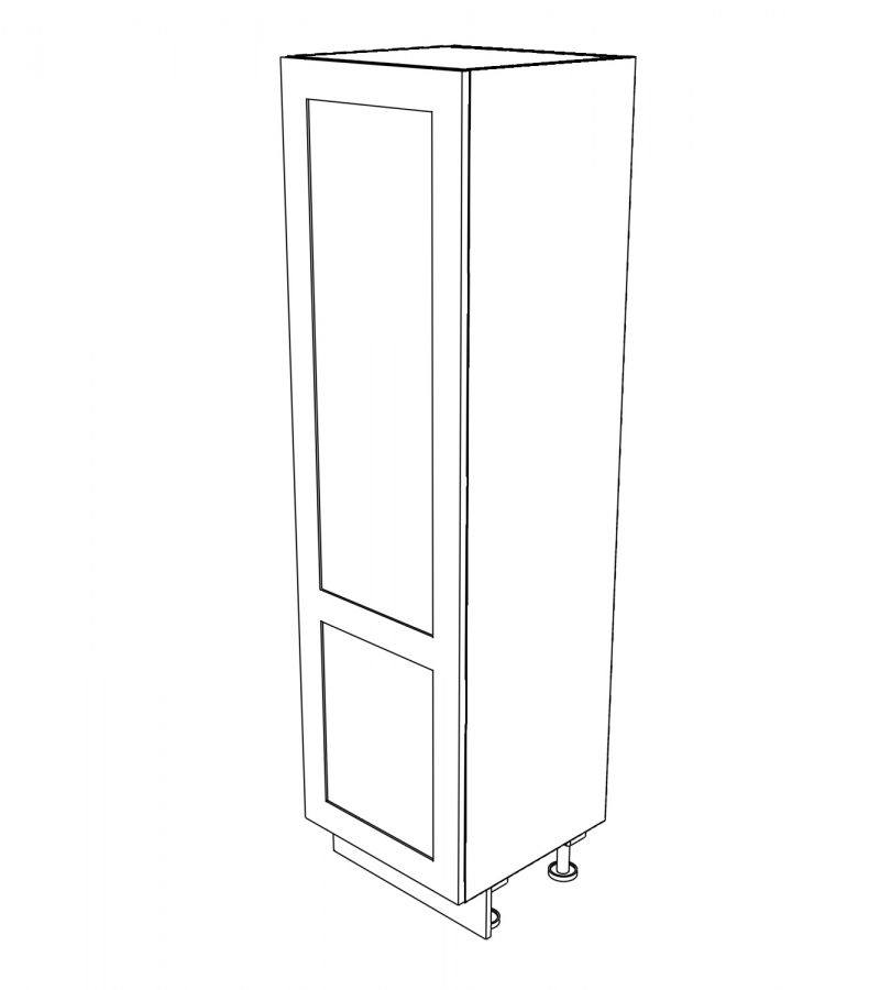 KR2 Tall single 600 Larder with drawers 3D