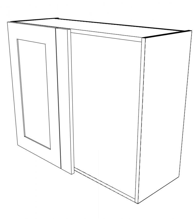 KR2 Wall Corner Left hand 3D 1