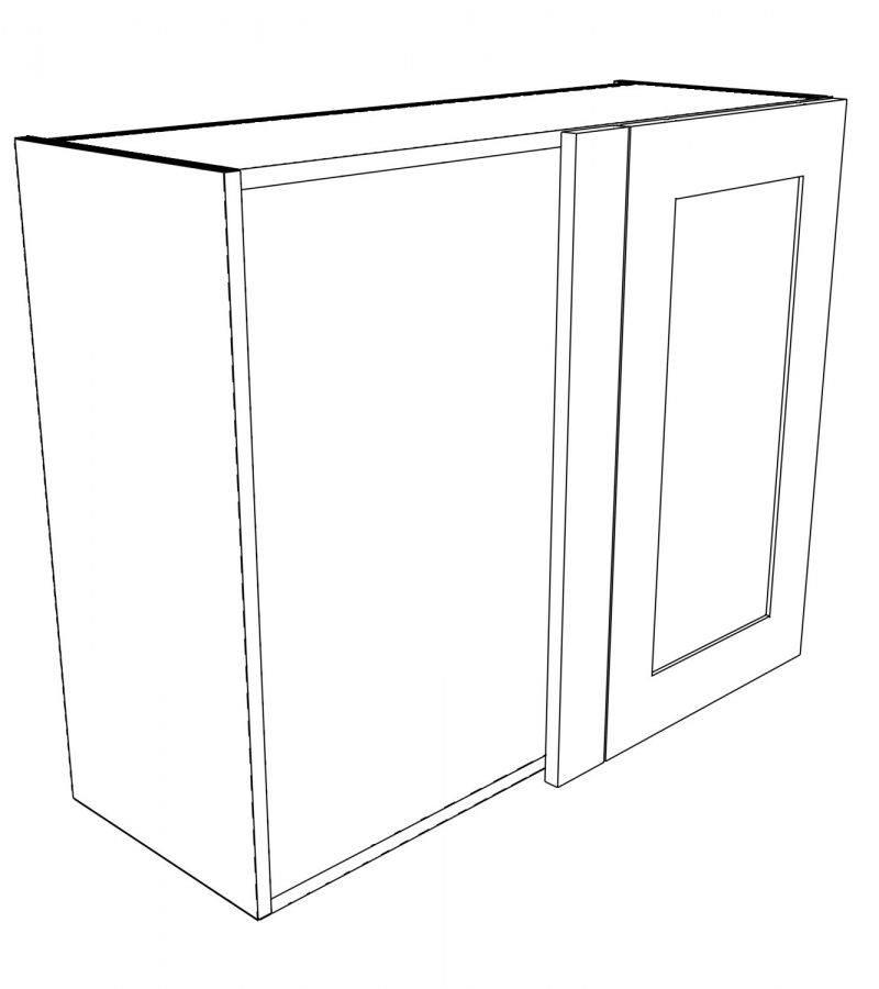 KR2 Wall Corner Right hand 3D 1