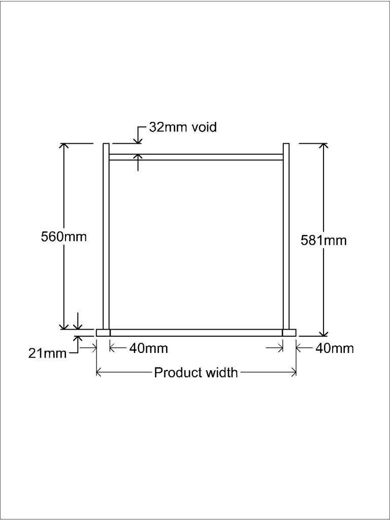KR1 Tall unit Plan